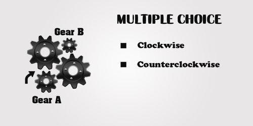 Gears no belt Example 1