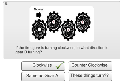 Free Mechanical Reasoning Test Review - Question #9